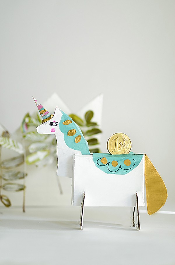 Make Your Own Unicorn Money Box