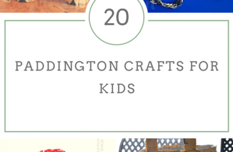 20 Paddington Bear Movie Crafts For Kids