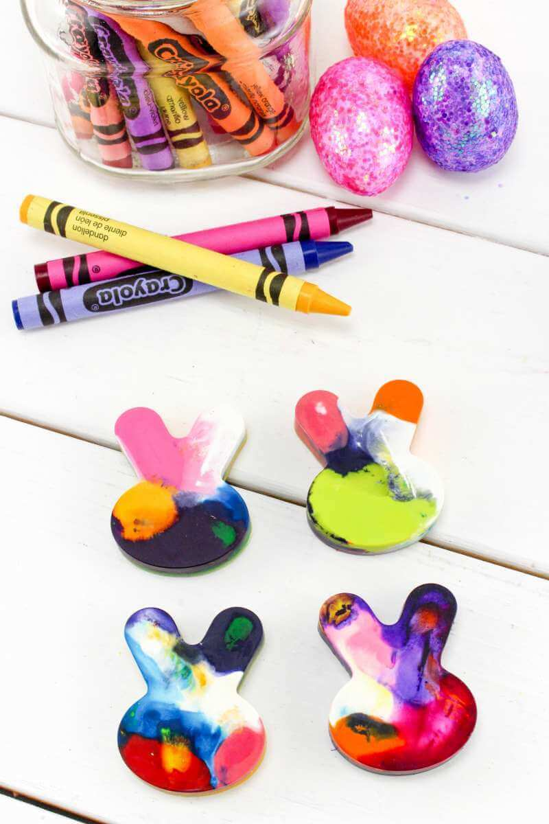 DIY Easter Crayons