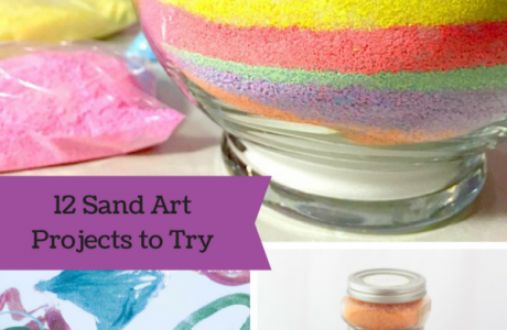 12 Kids Craft Sand Projects