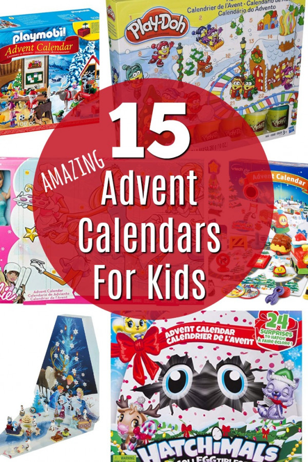 15 Advent Christmas Calendars For Kids