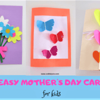 3 Easy Mother's day cards for kids