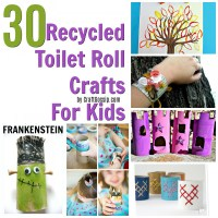 30 Kids Crafts To Make With Empty Toilet Rolls