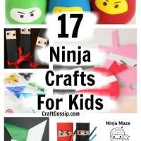 17 Ninja Crafts For Kids
