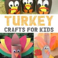 Thankful Thanksgiving Turkey Crafts For Kids