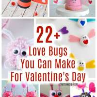 22 + Love Bug Crafts To Make For Valentine's Day