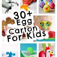 30 Kids Crafts To Make With Egg Cartons
