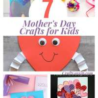 7 Mother's Day Crafts For The Weekend