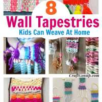 8 Woven Wall Tapestries For Kids To Make