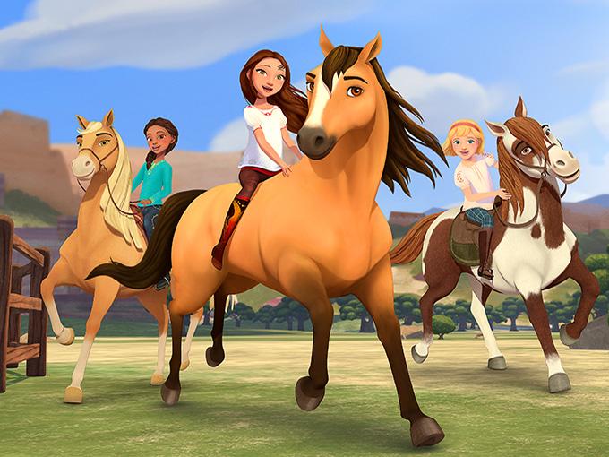 Kidscreen Archive Netflix Dreamworks Bring The Girl Power In Spirit Riding Free