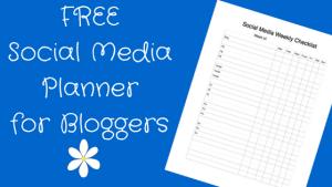 Free social media planner