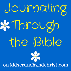 Kids, Crunch, and Christ Journal Through The Bible
