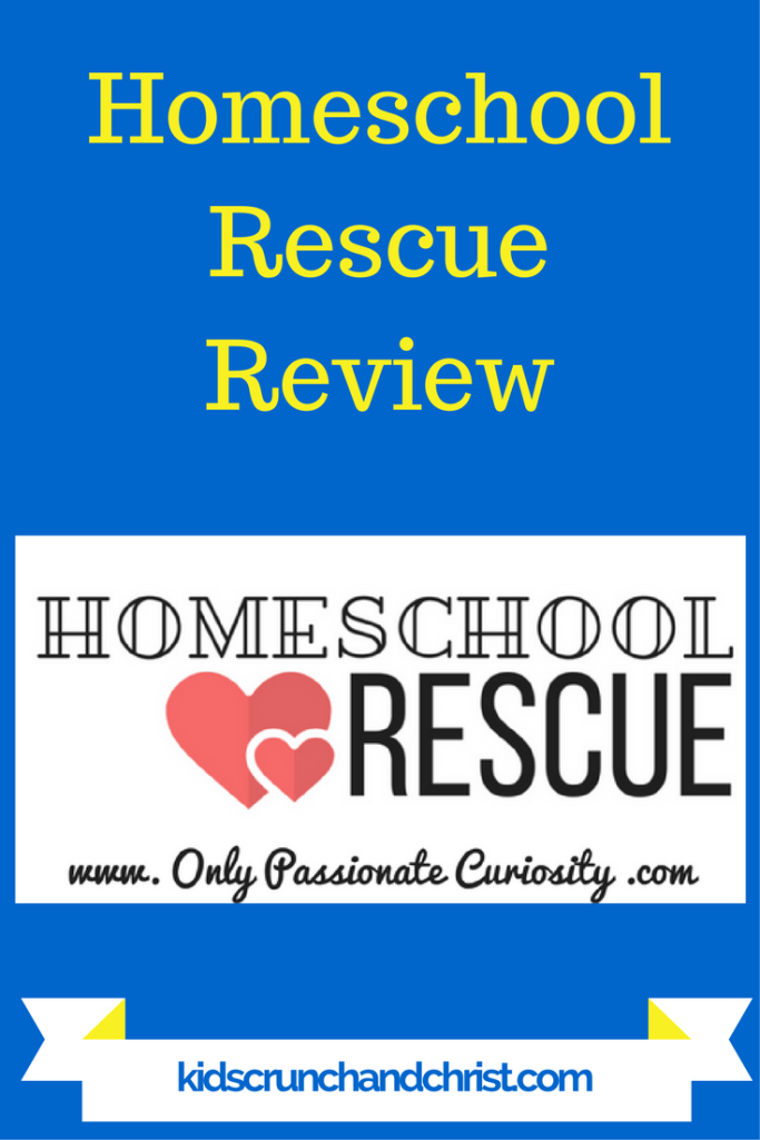 Homeschool help for parents, review of Homeschool Rescue Homeschool Parent Resource