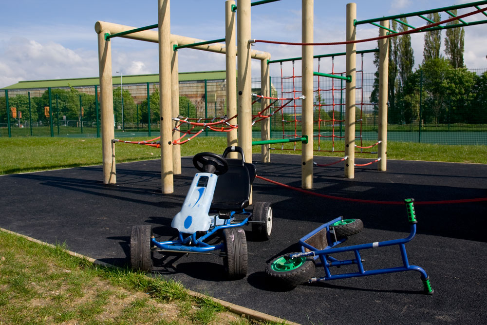 Outdoor Play at Shortstown Primary School Before & After School Club - Dawn Til Dusk