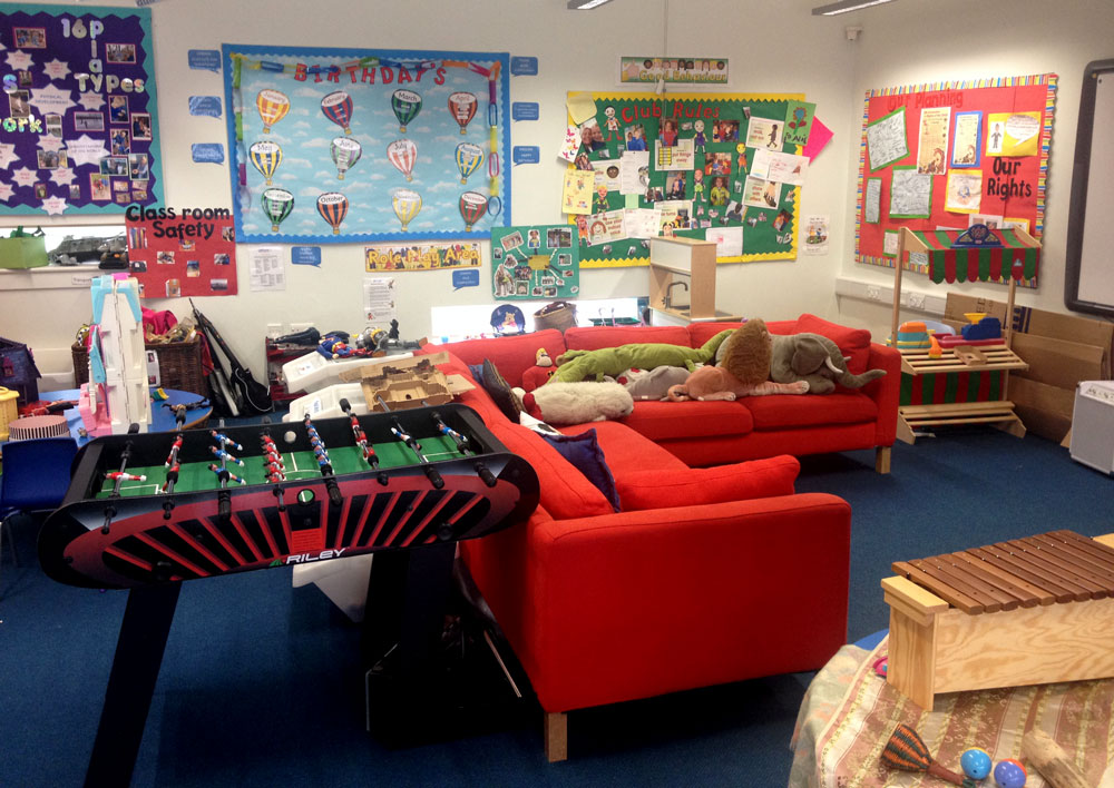 Chill Zone at Shortstown Primary School Before & After School Club - Dawn Til Dusk
