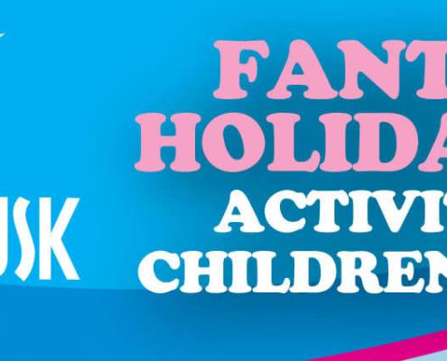 Easter School Holiday Club banner advert