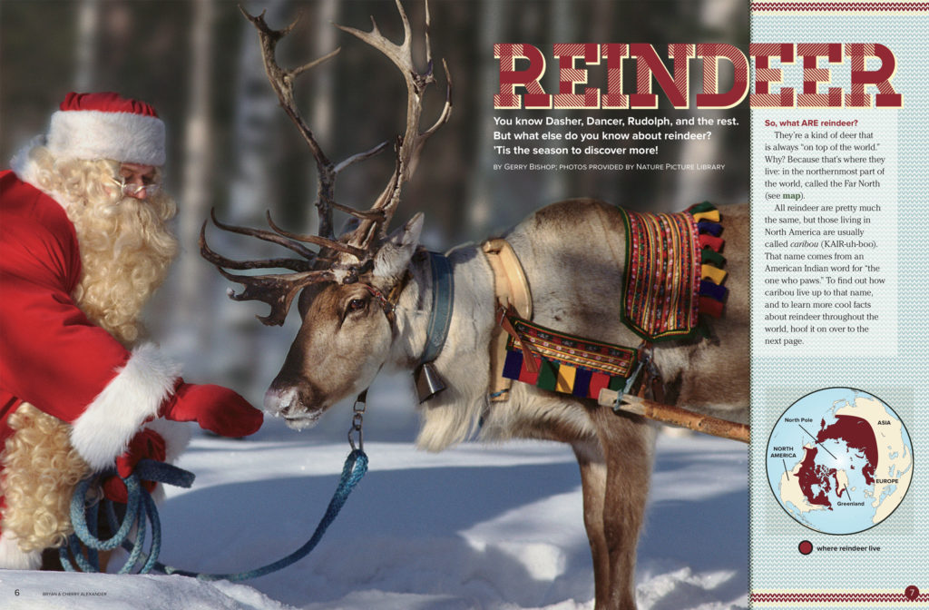 Reindeer Ranger Rick December January 2018 1