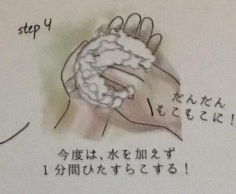 肌をメイクする石鹸