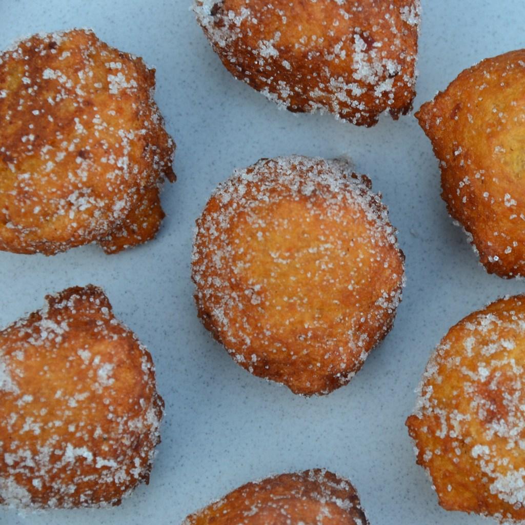 donuts, sweet potato