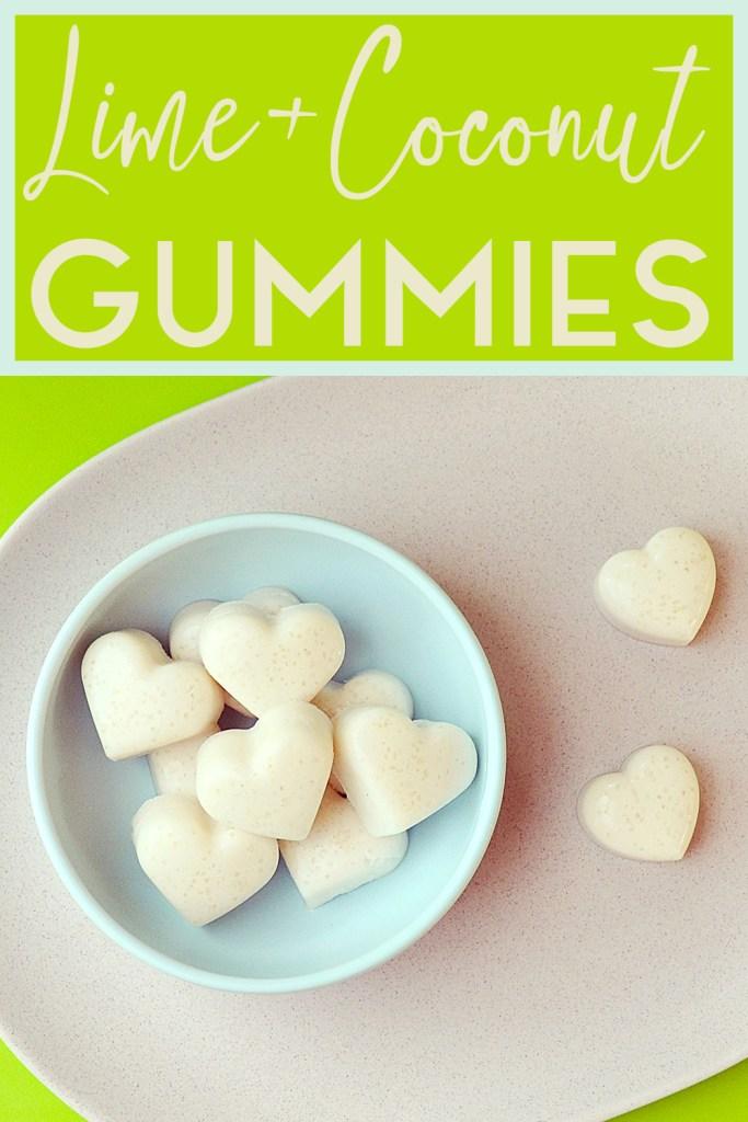 Lime + Coconut Gummies |  Kids Eat by Shanai