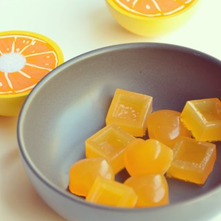 orange juice gummies