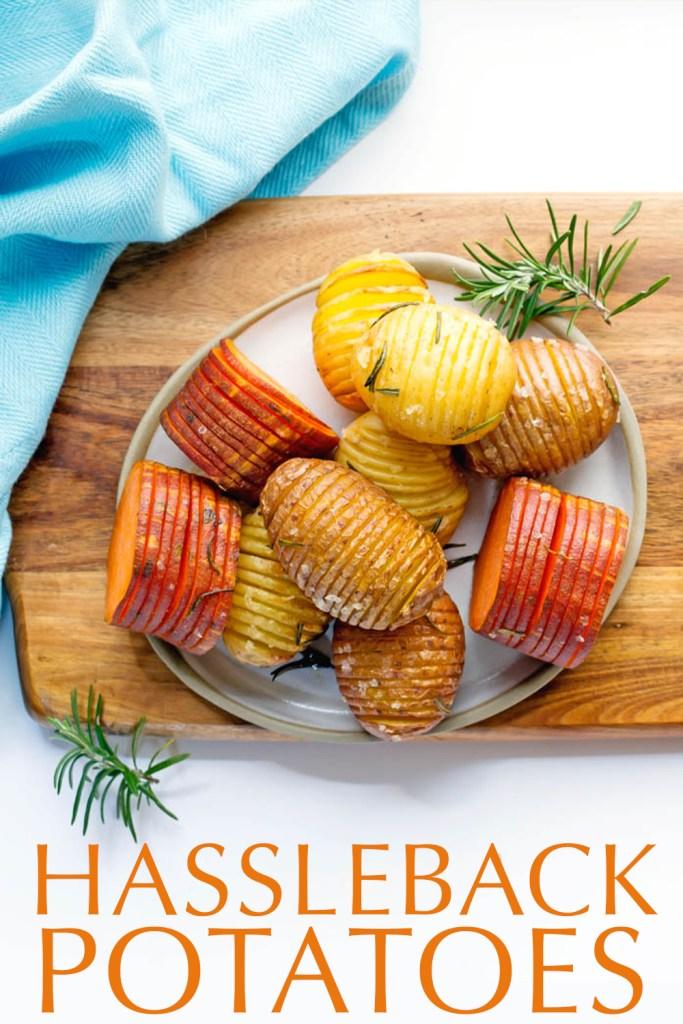 hasselback potatoes Kids Eat by Shanai