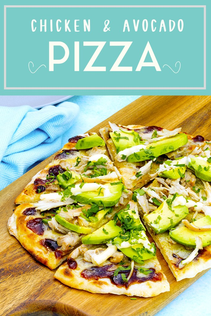 Chicken & Avocado Pizza Kids Eat by Shanai