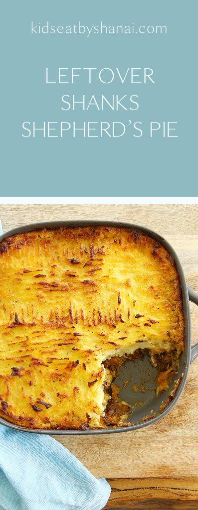 leftover shanks shepherd's pie by Kids Eat by Shanai