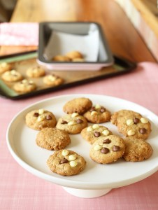 kinda healthy choc chip oat cookies by Kids Eat by Shanai