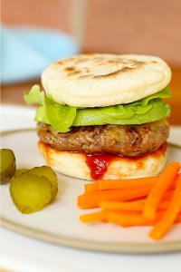 Hidden Veggies Flatbread Burgers | Kids Eat by Shanai
