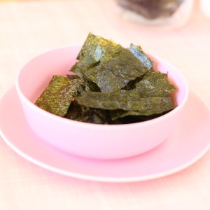 Nori Chips a crunchy, salty snack perfect for the park or for kid's school lunchboxes | Kids Eat by Shanai
