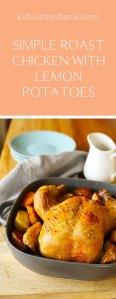 simple roast chicken with lemon potatoes Kids Eat by Shanai