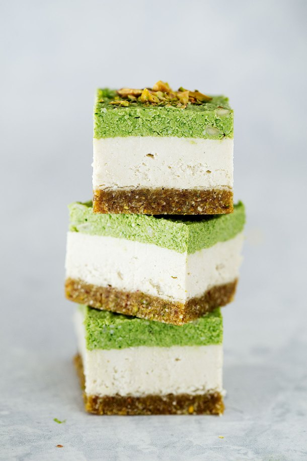 Raw Lime And Pistachio Slice Kids Eat By Shanai No
