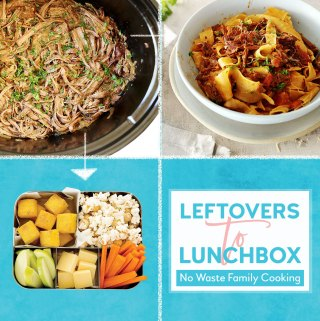 Leftovers to Lunchbox:   Slow Cooker Beef Brisket