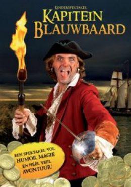 piratenshow piratenfeest kapitein blauwbaard