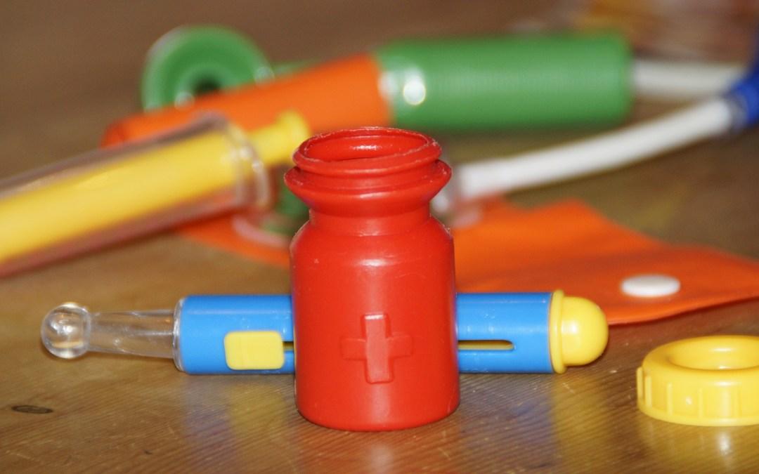 speelgoed voor het zieke kind
