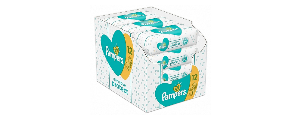 Pampers Babydoekjes Sensitive Protect…