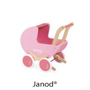 kidsenco Janod poppenwagen