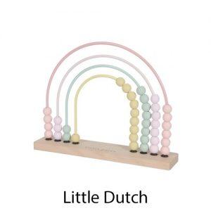 kidsenco Little Dutch Telraam regenboog