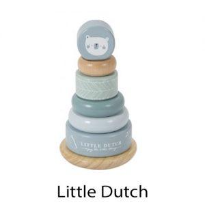 kidsenco Little Dutch Tuimelringpiramide