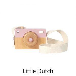 kidsenco Little Dutch houten Camera roze