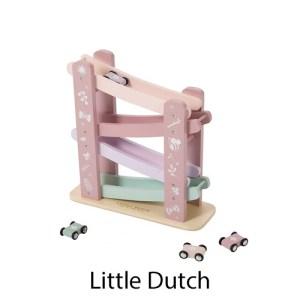 kidsenco Little Dutch houten autobaan