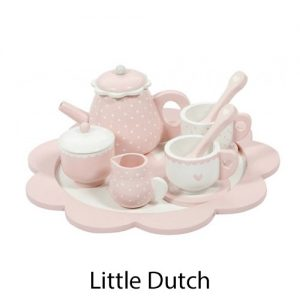 kidsenco Little Dutch houten theeservies