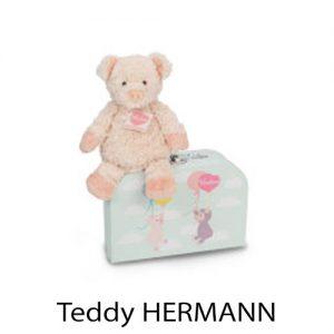kidsenco Teddy HERMANN beertje koffer
