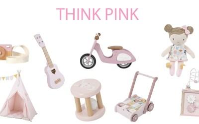 roze kadootjes think pink