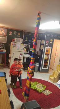 Dante and Brody Block Tower