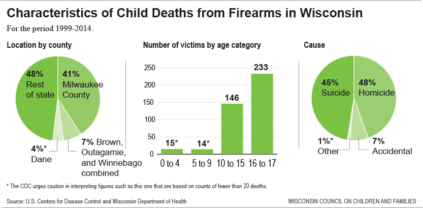 Child Death Toll: Wisconsin Children Killed by Guns - Kids