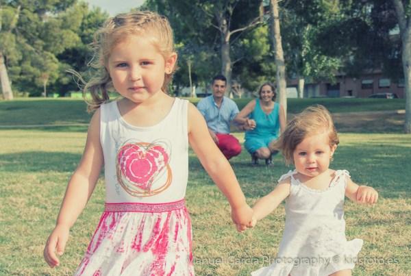 Fotografía familiar, actividades con niños
