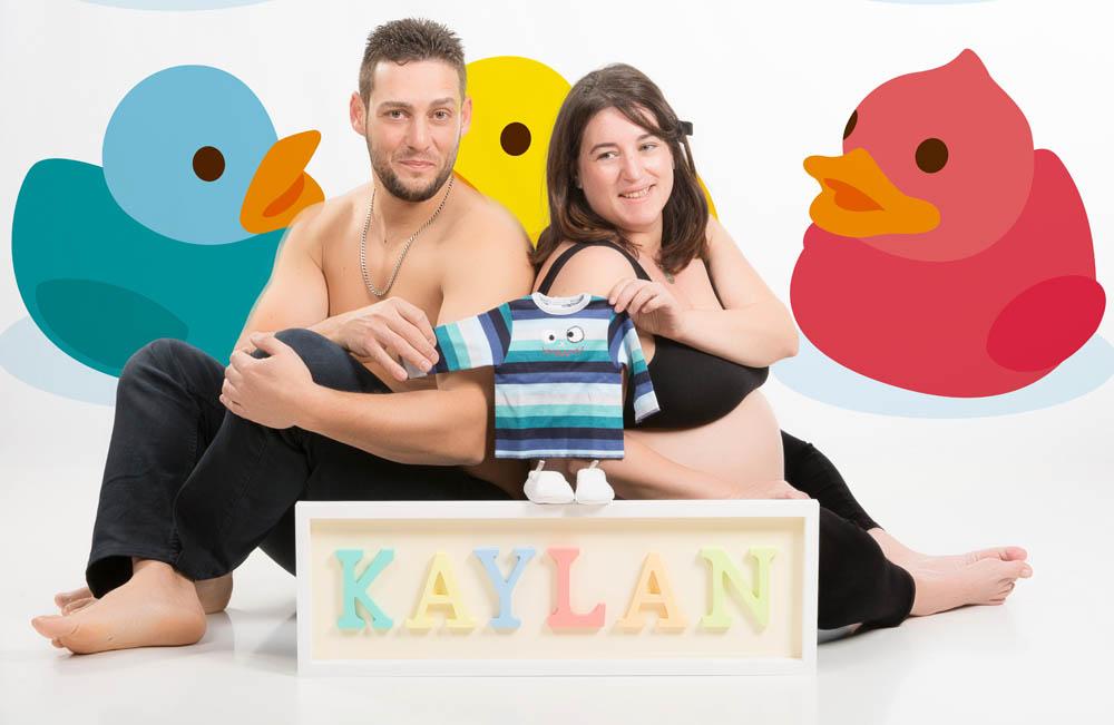 kidsfoto.es Reportaje premamá + Belly painting Zaragoza