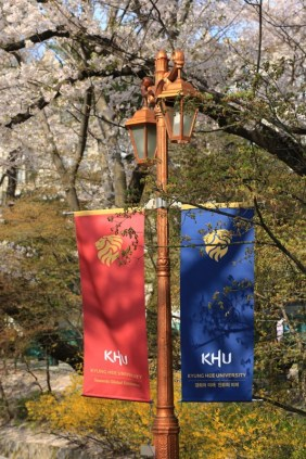 Flags Kyunghee University